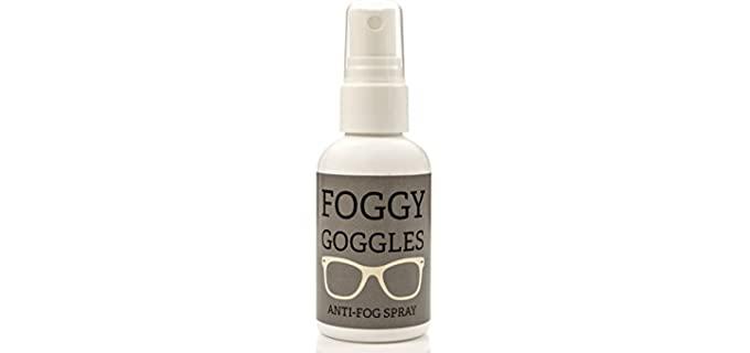 SURF BUTTA Foggy Goggles - Fog Preventing Shower Mirror Spray