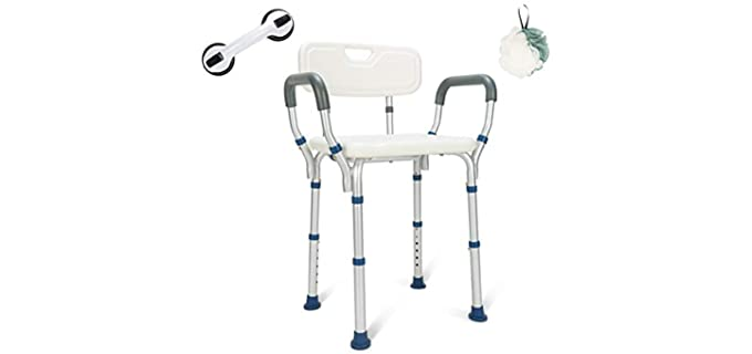 GreenChief Comfortable - Shower Chair for Elderly