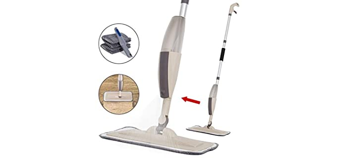Decorus Aluminium - Scrapper Mop For Tile Floors