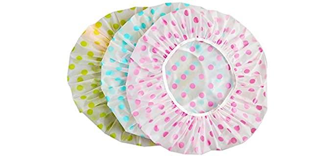HuiYouHui Flower - Shower Cap