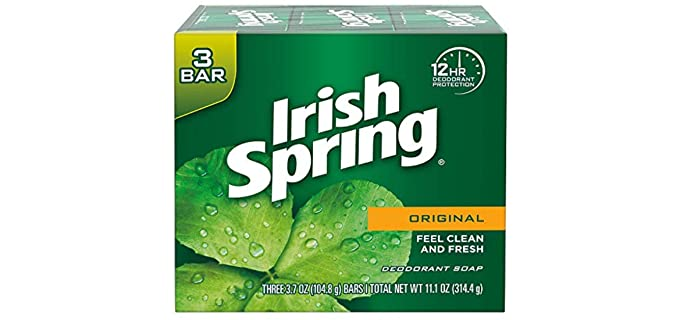 Irish Spring Deodorizing - Scented Shower Soap