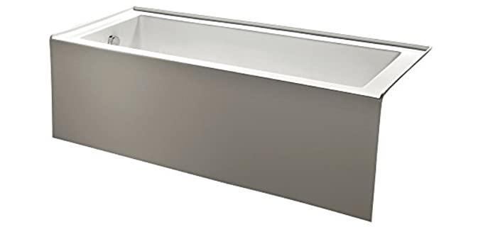 Kingston Brass Contemporary - Alcove Acrylic Bathtub