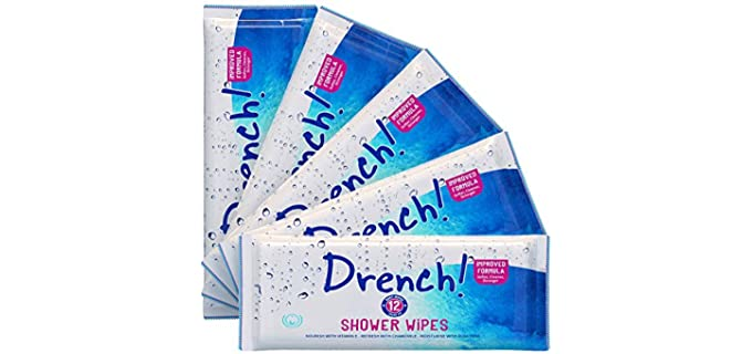 Drench! Medical Luxurious - Shower Wipes for Adults