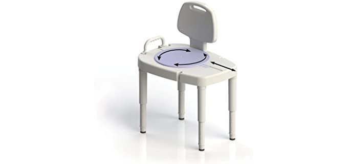 SP Ableware Rotating - Shower Transfer Bench
