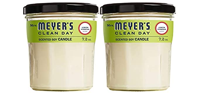 MRS. MEYER'S CLEAN DAY Lemon - Large Bathroom Candles
