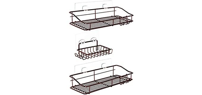 Nieifi  Steel - Compact Shower Caddy Organizer