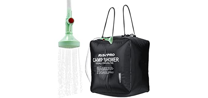 RISEPRO Solar Heated - Shower Bag