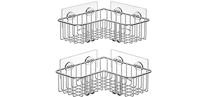 SMARTAKE Easy-Install - Shower Caddy Organizer
