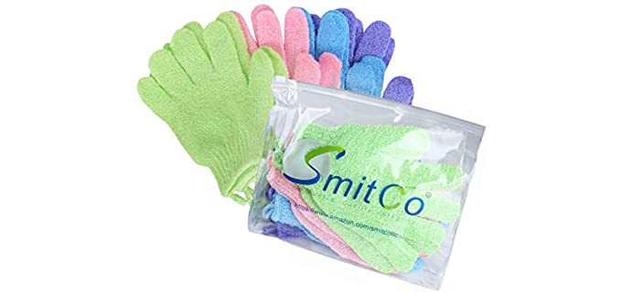 SMITCO Smooth - Shower Exfoliator Gloves