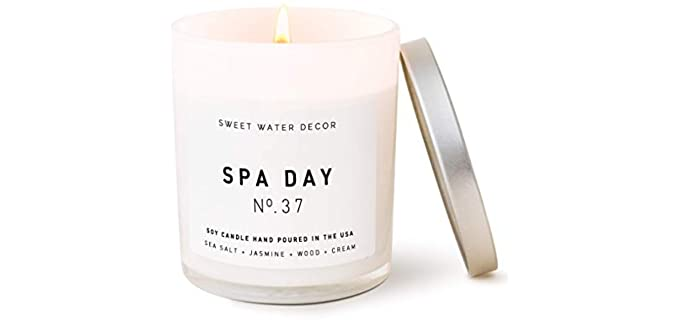 Sweet Water Decor Spa - Large Bathroom Candles