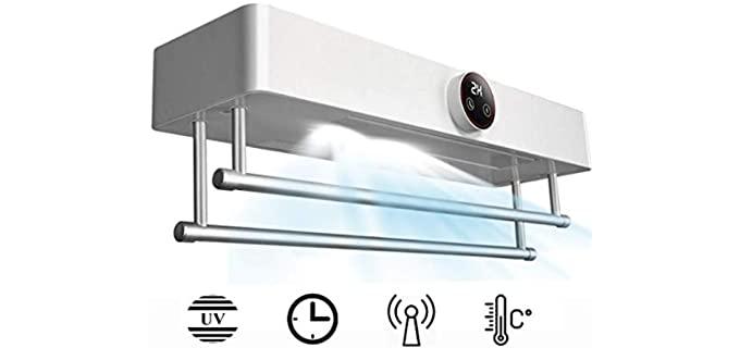 AllRide Wall-Mounted - Efficient Towel Warmer