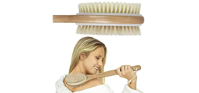 Vive Bath - Exfoliator Brush