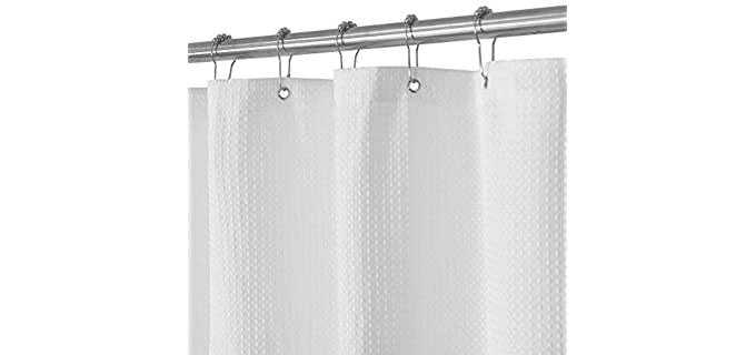Barossa Design Waffle - Weave Shower Curtain