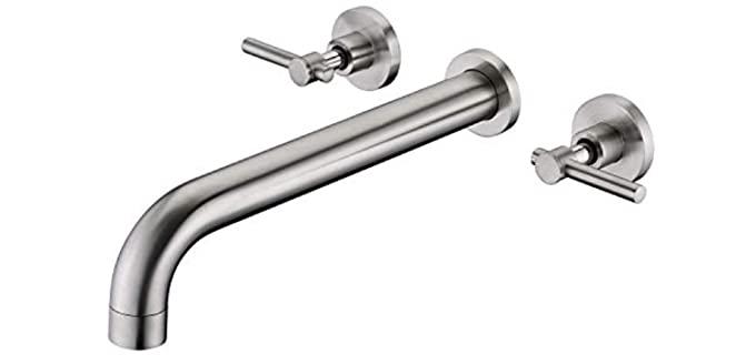 Sumerain Nickel - Modern Bathtub Faucets