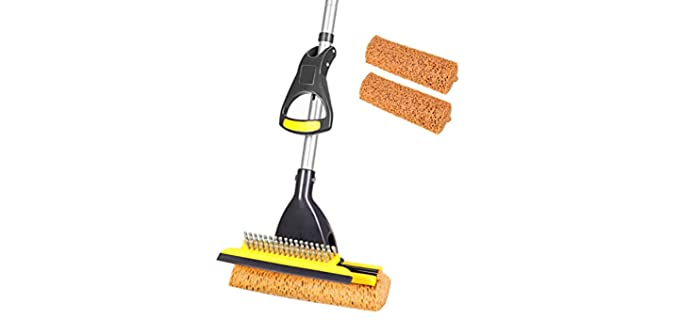 Yocada Sponge - Squeegee Mop For Tile Floors