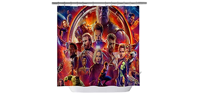 Goodcare Classic - Marvel Heroes Shower Curtains