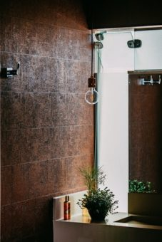 sophisticated shower