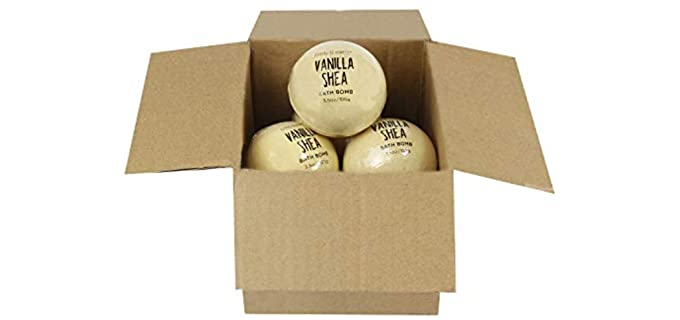 Body & Earth Vanilla - Best Bath Bombs For Kids