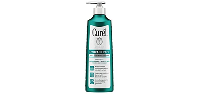 Curel Skincare Hydra-Therapy - Penetrating Shower Lotion For Dry Skin