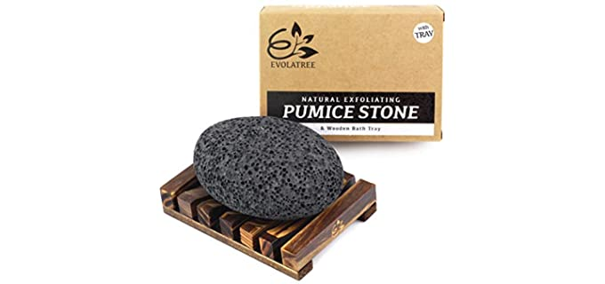 Evolatree Natural - Pumice Stone for Feet