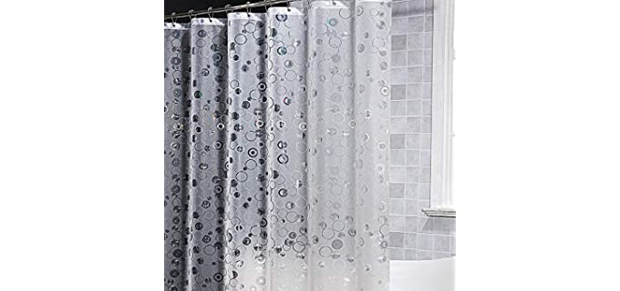 ARICHOMY Textured - Vinyl Shower Curtains