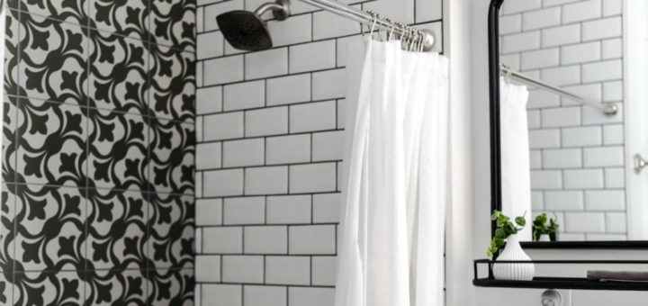 vinyl shower curtains