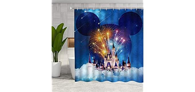 DMTTY Fairy Tale - Colorful Shower Curtain