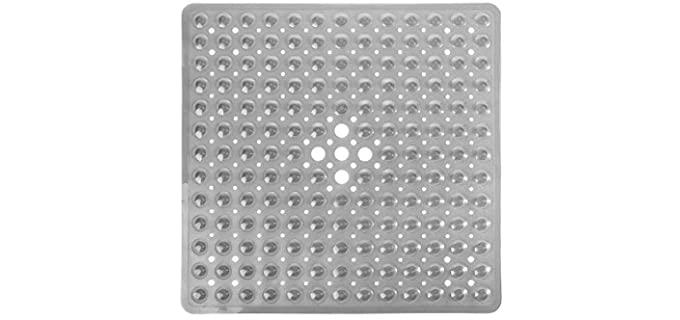 Yimobra Clear Gray - Square Shower Mat