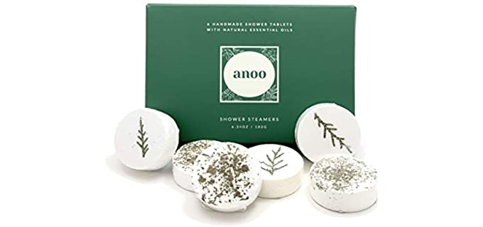 Anoo Handcrafed - Essential Oils Shower steamers