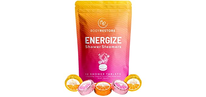 Body Restore 3 Scents - Energizing Shower Steamers