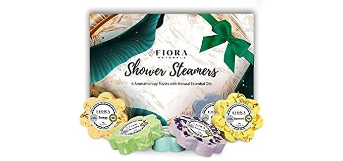 Fiora Naturals Organic Oils - Shower Steamers