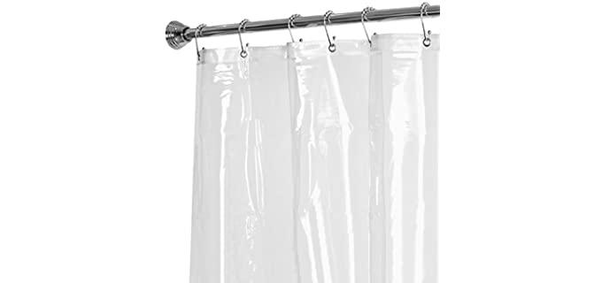 MAYTEX PEVA - Heavyweight Shower Curtain Liner