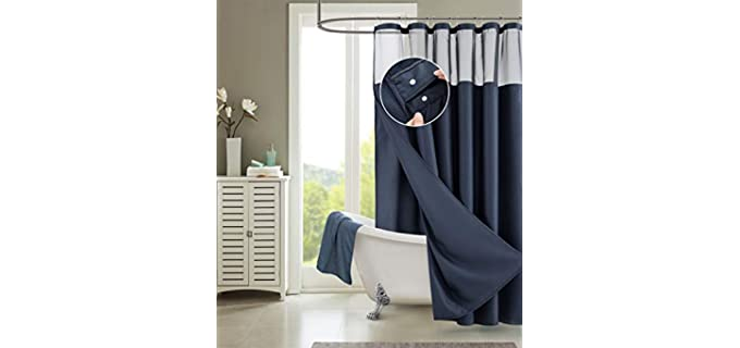 Dainty Home Store Hookless - Shower Curtains