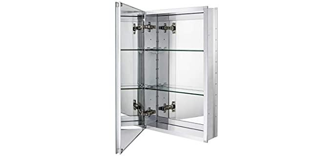 Fundin Aluminum - Bathroom Mirror Cabinet