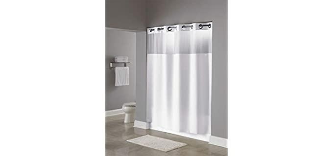 Hookless Mesh - Layered Hookless shower curtain