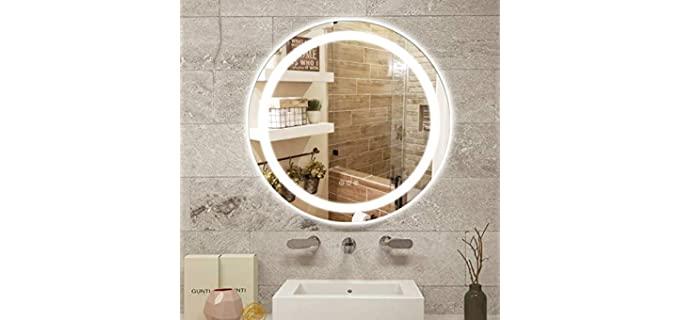 Amorho Frameless - No Shadow LED Vanity Mirror