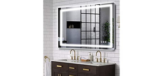 MAVISEVER ETL Certified - Waterproof Bathroom Mirror