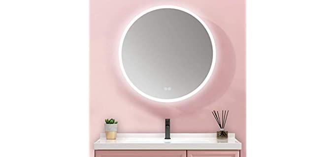 MIAOHUI Silver-Plated - Smart Vanity Mirror