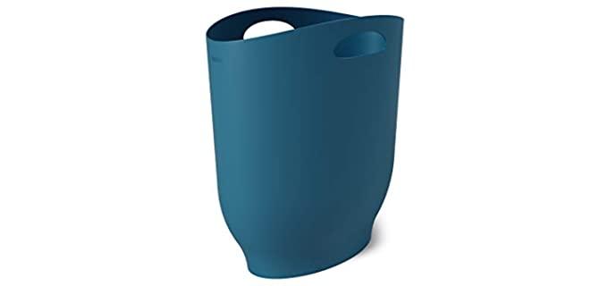 Umbra Lagoon - Blue Bathroom Waste Basket