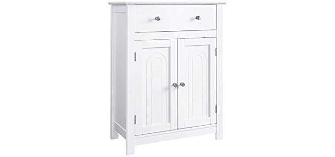 VASAGLE Free Standing - Entryway Bathroom Cabinet