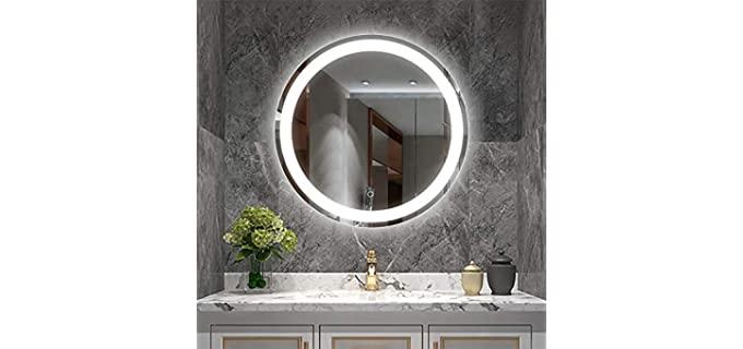 YRSHA 24-Inch - Aluminum Vanity Mirror