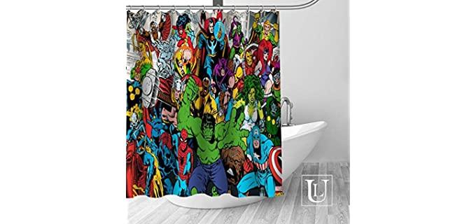 Caiyi Avengers - Shower Curtain Marvel