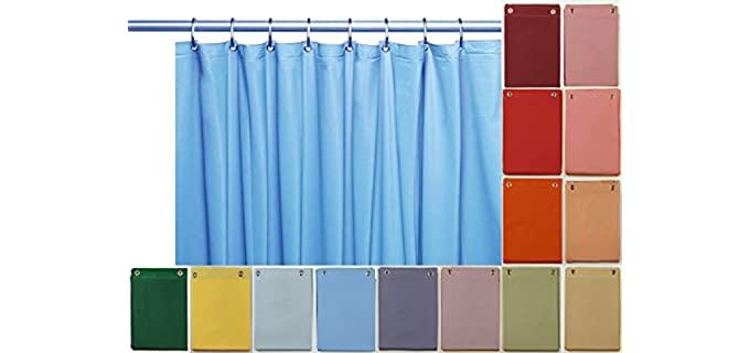 Elegant Home Heavy Duty - Shower Curtain Vinyl
