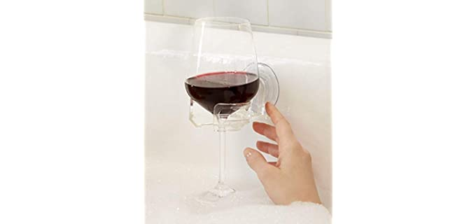 SipCaddy Wine and Beer Holder - Shower Accessories
