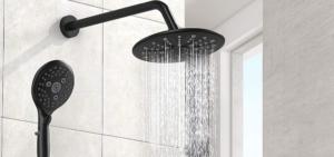 Black Shower System