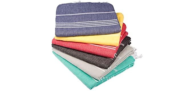 Clotho Sandproof - Large Turkish Bath Towel Set