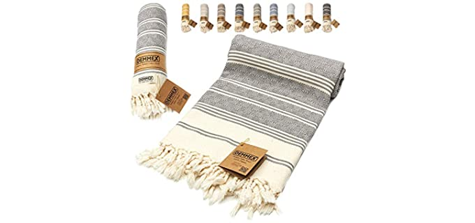 DEMMEX  Organic - Turkish Knotted Towel
