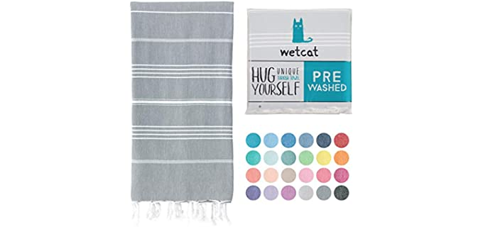WETCAT Cotton - Thin Turkish Towel