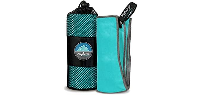 Youphoria Outdoors Microfiber - Quick Dry Camping Towel