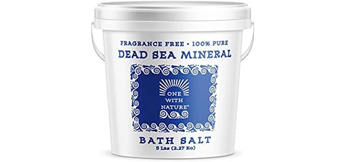 One woith Nature Dead Sea Mineral - Bath Salts
